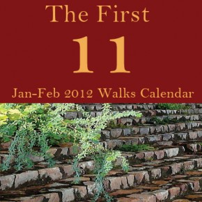 The First Eleven: Jan – Feb 2012 Walks Calendar