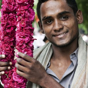 (The disappeared) Flower Markets of Delhi Walk / Sun 9 Feb 2014