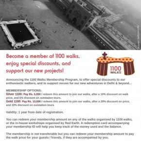The #1100Walks Membership Program