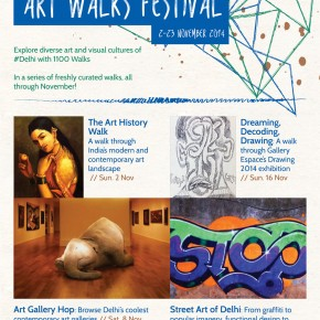 #1100 Art Walks Festival - November 2014