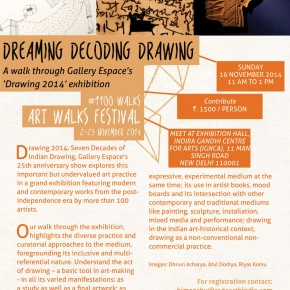 Dreaming, Decoding, Drawing // Sun 16 Nov. 2014