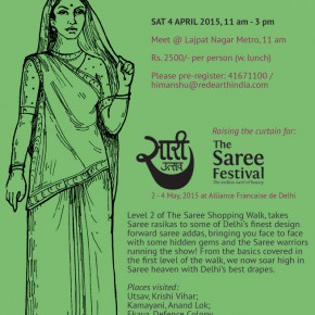 The Saree Shopping Walk; Deluxe Ed. / Sat. 4 April