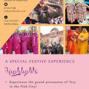 Teej Tour, Jaipur / 03-04 Aug, 2019